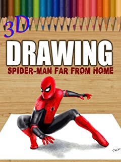 Clip: 3D Drawing: Spider-Man Far From Home