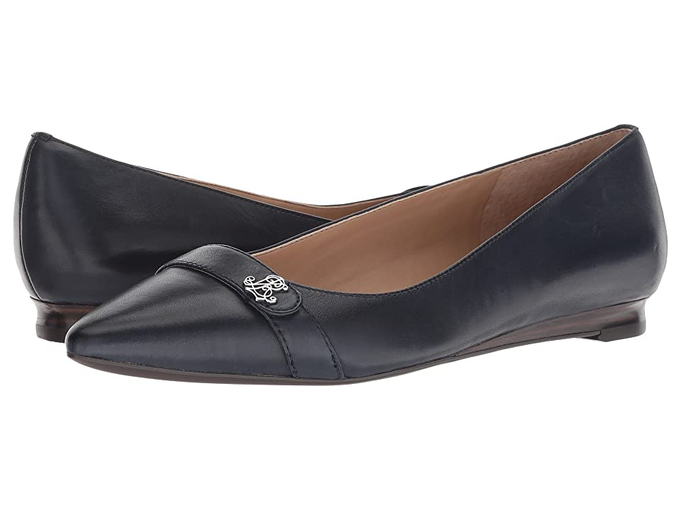 LAUREN Ralph Lauren Aminah (Dark Midnight Super Soft Leather) Women