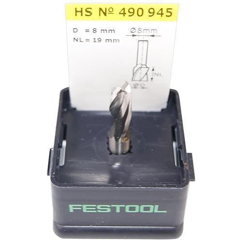 Festool Fraise Hélicoïdale avec queue de 8 mm HS Spi S8 D8 / 19