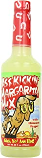 Ass Kickin - Margarita Mix with Habanero Pepper - 26oz. (3 Pack) - Perfect Spicy Margarita Mix - Just Add Your Favorite Te...