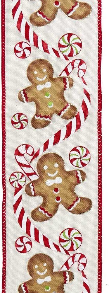 Kurt Chicago Mall S. Adler 10-Yard Fabric Woven Max 59% OFF Gingerbread White
