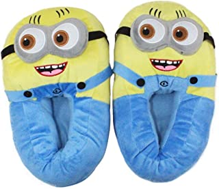 Minion Despicable me Plush Slippers by Snappy Santa
