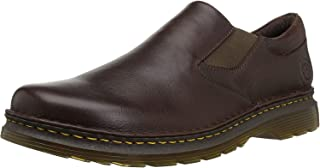 Dr. Martens Men's Orson Loafer, Dark Brown, 10 M US