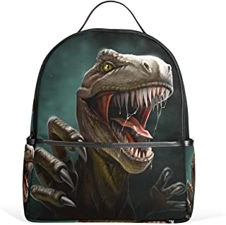DEZIRO Dino Dangerous Dinosaurio boca abierta senderismo mochila mochila Daypack bolsa de viaje