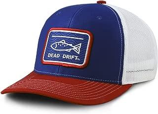 Dead Drift Fly Fishing Hat Fly Eddy Trucker Snap Back