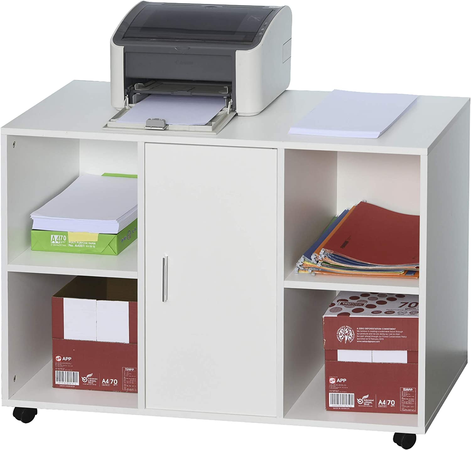 Vinsetto Multipurpose Filing Cabinet Printer with Inter an Stand Daily Chicago Mall bargain sale