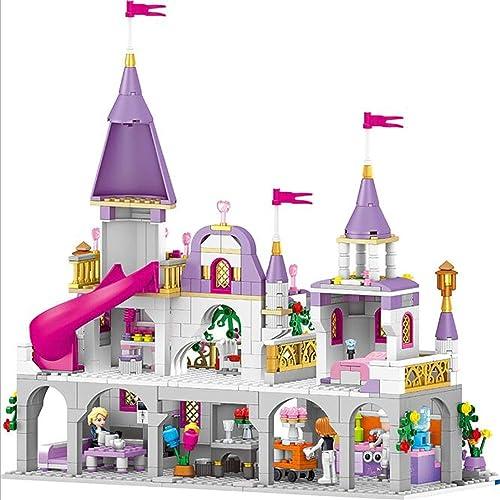 BABIFIS Castle Dreams füry City mädchen Puzzle Bausteine  pielzeug, Kinderspielzeug mädchen über 6 Jahre