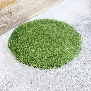 Time Concept Lifelike Faux Grass Indoor/Outdoor Door Mat - Round