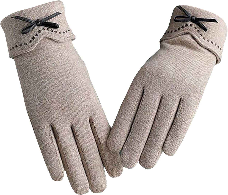 Women Cold Weather Touch Screen Gloves Women Winter Touchscreen Gloves