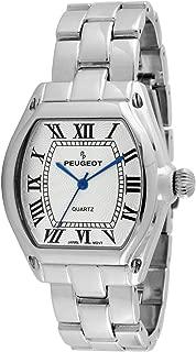 Best ladies rectangular silver watches Reviews
