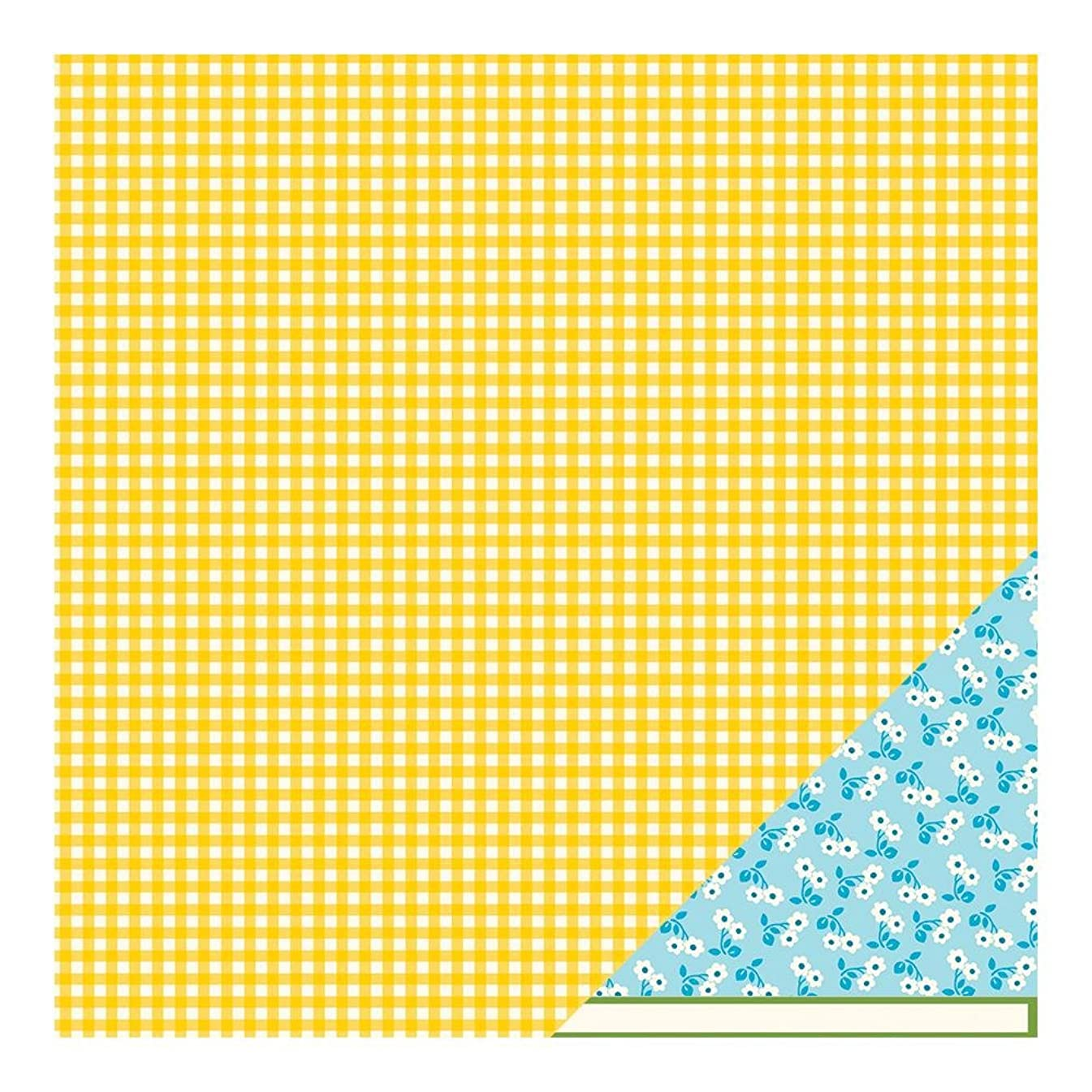 Pebbles Family Ties Double-Sided Cardstock 12