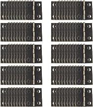 YOFASEN Scharnieren voor Buiten - Mini Rvs Scharnieren Meubel Kast Hardware Deurlade Kastscharnier met Schroeven, 100 Pcs