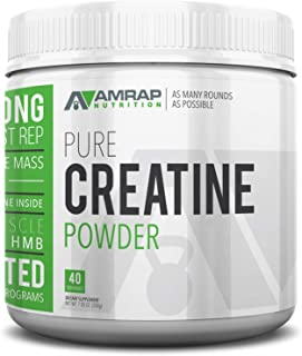 Sponsored Ad - AMRAP Nutrition Micronized Creatine Powder, 200g, High Quality, WADA Compliant, Athlete Approved (40 Servings)