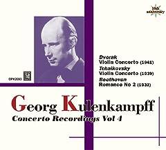 Georg Kulenkampff (Violin) Concerto Recordings Vol 4