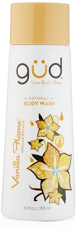液化する美的予算Gud Vanilla Flame Natural Body Wash, 10 Fluid Ounce by Gud