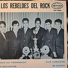 """Los Rebeldes del Rock - 4 song Orfeon EP 289 - 7"""" 45 rpm - Mexico import - Rare!"""