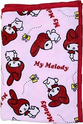 mo-goods 毛布 マイメロディ 140x200 cm マイメロディ シングル毛布 MO-MM5884