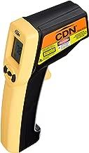 CDN IN1022 Non-Contact Digital Laser Infrared Thermometer Temperature Gun - Yellow