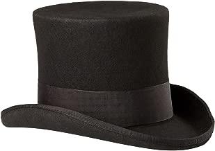 SCALA Men's Wool Felt Top Hat