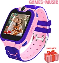Smart Watch for Kids with 7 Puzzle Games Music Player Camera Two-Way Call SOS Recorder..