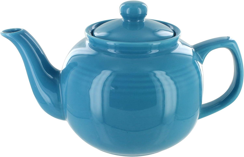 EnglishTeaStore Brand 6 Cup Teapot (Light bluee)