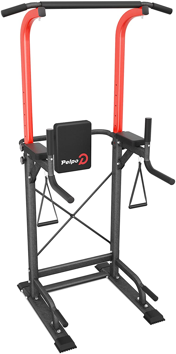 pelpo Power Tower Max 58% OFF Height Adjustable Pull Up for Ranking TOP13 Bar Home Station