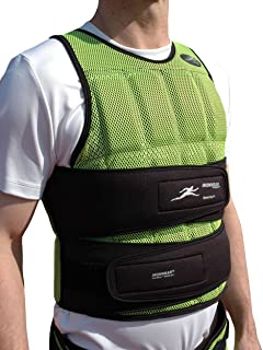 Speed-vest (Long) Breathable 1-17 Lb. Athlete Training Weighted Vest