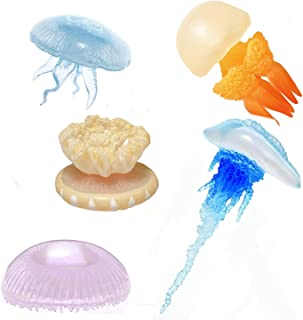 Kitan Club Jellyfish Rubber Toys - Blind Box Includes 1 of 5 Collectable Figurines - Fun and Educational - Authentic Japanese Design