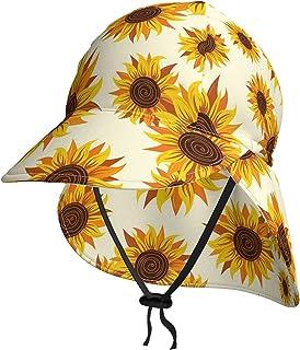 Lsjuee Sunflowe - Cappello da sole per bambini, traspirante