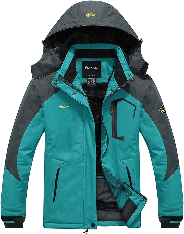 Max 74% OFF Wantdo Women's Waterproof Mountain Jacket Windproof J Time sale Ski Fleece
