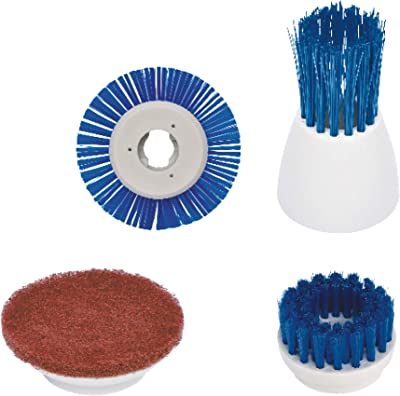 ribimex PRBBQBAT/CV Accessoires Nettoyage Verre et Céramique pour Brosse Multifonction Sprizzy