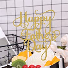 7thlake Father's Day Birthday Cake Flag Dessert Table Decoration Baking Cup Cake Decoration