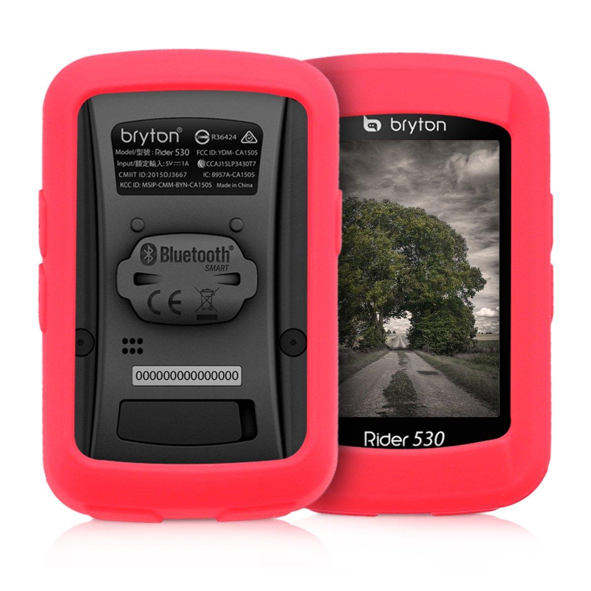 kwmobile Funda Compatible con Bryton Rider 530 - Carcasa de ...