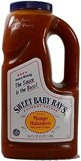 Sweet Baby Rays Mango Habanero Wing Sauce & Glaze 64 Oz. (1-Pack)