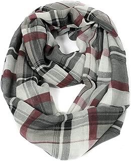 Plaid & Tartan Winter Infinity Scarf Wraps