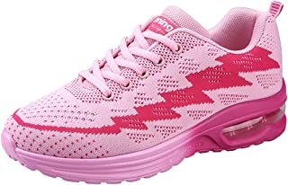 JARLIF Women's Lightweight Jogging Training Running Shoes Athletic Walking Tennis Sneakers US5.5-10