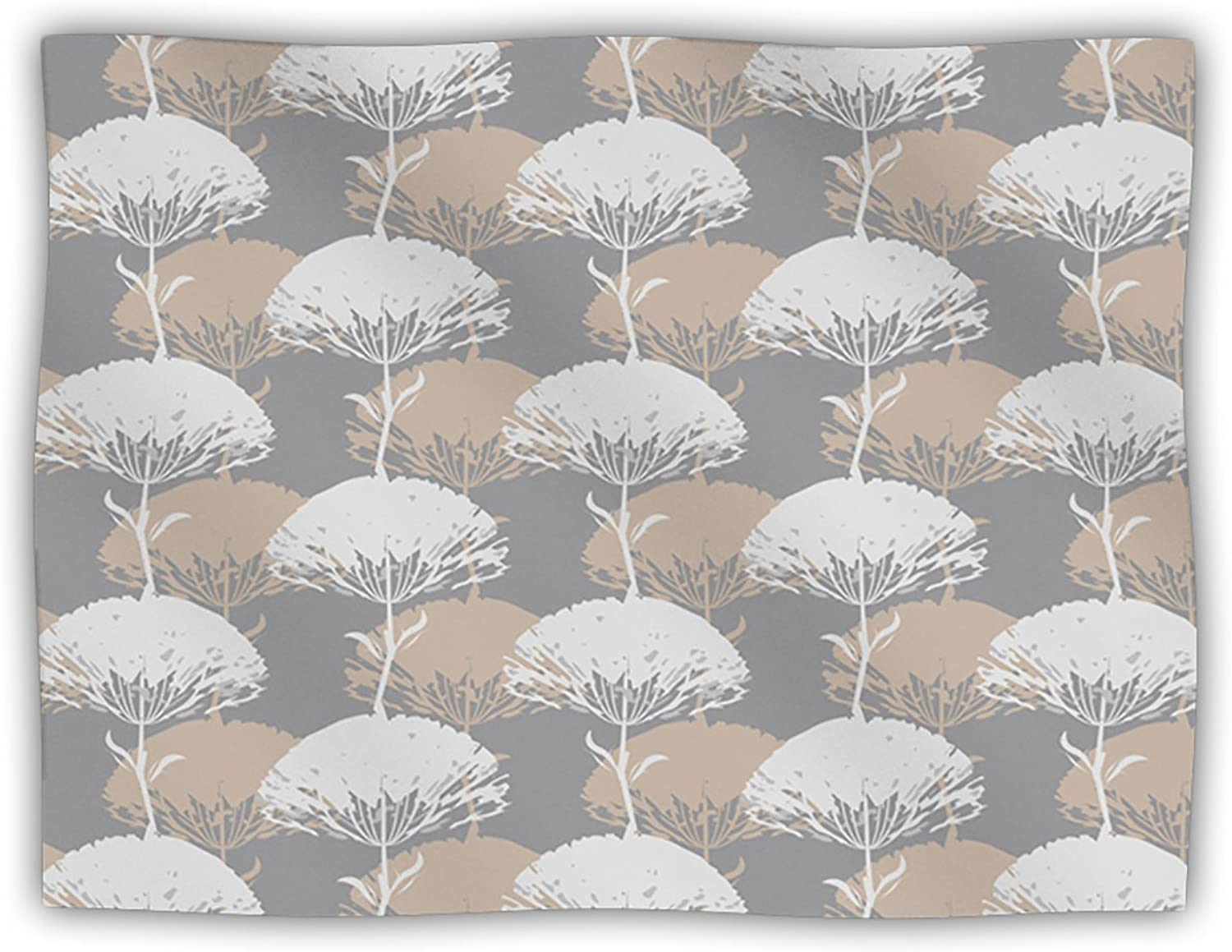 Kess InHouse Julia Grifol 'Charming Tree' Dog Blanket, 40 by 30Inch