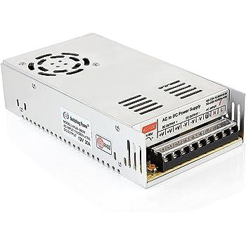 industriel etc LED MYSWEETY AC 110V//220V /à DC 12V 30A 360W Transformateur de Tension alimentation /à d/écoupage pour la bande men/ée affichage panneau daffichage de l/équipement