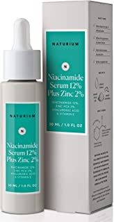 Naturium Niacinamide Serum 12% Plus Zinc 2% With Niacinamide, Hyaluronic Acid & Vitamin E