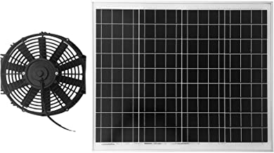 Amtrak Solar's Powerful 70-Watt Solar Attic Fan Quietly Cools Your House Ventilates Your House, Garage or RV and Protects Against Moisture Build-up