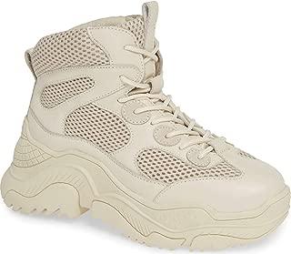 Pyro White Combo Super Chunky Dad Boyfriend Wedge Sneaker Boot
