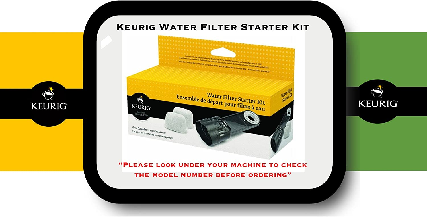 Keurig K-Classic Water Filter OFFer Replacement Kit Starter Don't miss the campaign