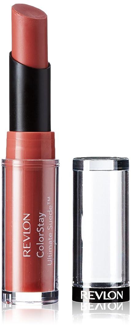 かごサンダルうぬぼれたRevlon Colorstay Ultimate Suede Lipstick (Influencer (099))