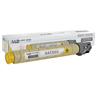 LD Compatible Toner Cartridge Replacement for Ricoh MP C305 841593 (Yellow)