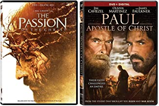 The Passion of the Christ + Paul, Apostle of Christ: 2 Movie DVD Collection - Starring Jim Caviezel