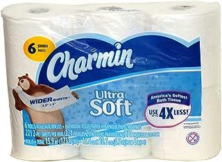 Charmin Ultra Soft Wide Bathroom Tissue - 6 Jumbo Rolls 221 Sheets