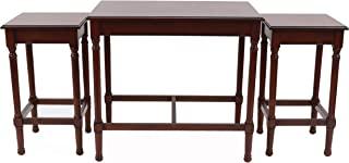 Decor Therapy MP2027 Nesting Tables, Aged Cherry