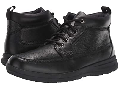 Nunn Bush Cam Moc Toe Boot (Black Tumbled) Men