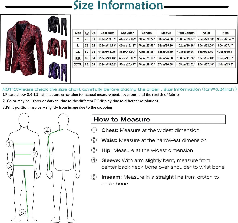 Men's Suit Slim 2-Piece Suit Blazers Business Wedding Party Jacket Coat Pants Hooded Shirt Pullover Sweatshirt Sweater