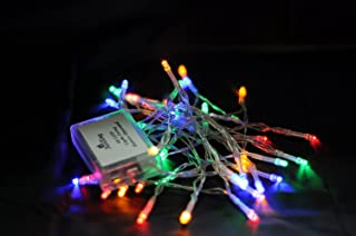 Karlling Battery Operated Multicolor 40 LED Fairy Light String Wedding Party Xmas Christmas Decorations(Multicolor)